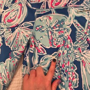 Lilly Pulitzer Pants - Lilly Pulitzer Into the Deep Luxletic Leggings
