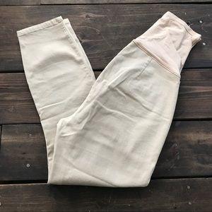 GAP Pants - Gap Ultra Skinny Maternity Khaki Cropped Pants