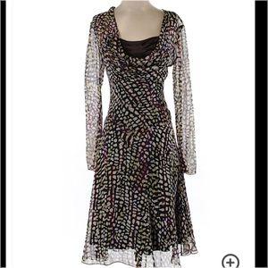 Diane Von Furstenberg Dresses & Skirts - Diane Von Furstenberg Sheer Silk Slip Dress