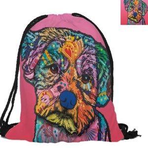 Puppy Drawstring Bag