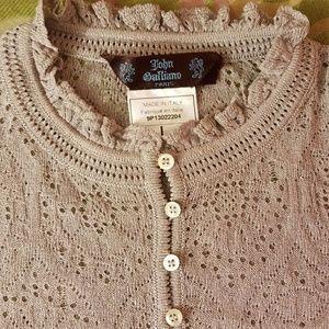 John Galliano Sweaters - Vintage John Galliano cardigan