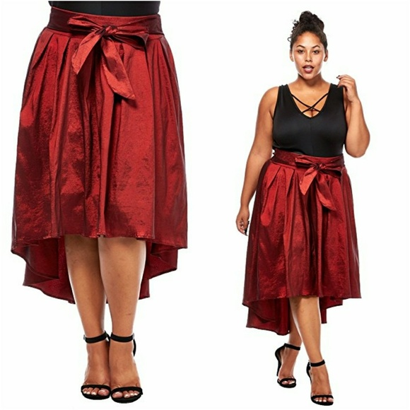 44 dresses skirts new plus size high low skater