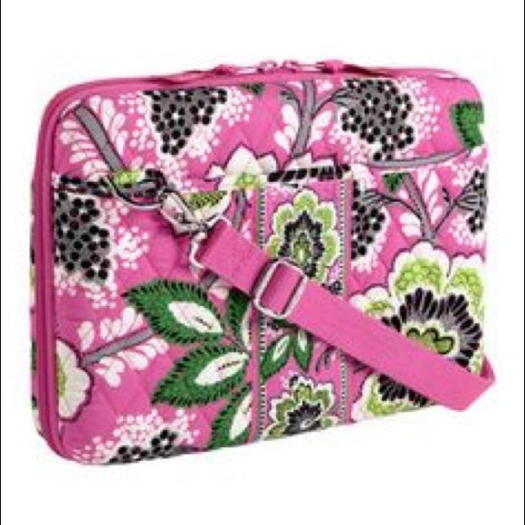 c8fbf8d0d3 Vera Bradley laptop case. Priscilla Pink! NWOT. M 5946006699086ac24d036209