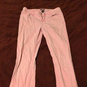 Allen B. By Allen Schwartz Denim - Neon pink skinny jeans