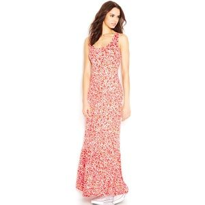 RACHEL Rachel Roy Dresses & Skirts - Rachel Rachel Roy Floral Print Red Maxi Dress