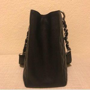 b9d095f6d62c CHANEL Bags | Authentic Gst Size Medium Silver Hardware | Poshmark