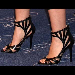 0c1fbfc338c Jimmy Choo Shoes - Jimmy Choo + H M caged heels 36