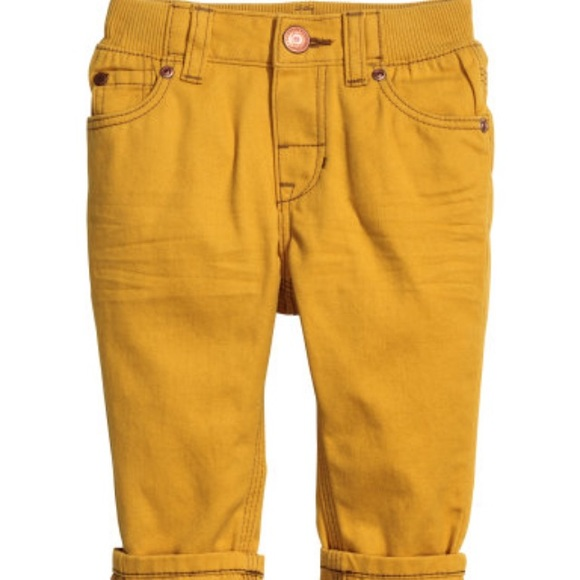 33 Off H Amp M Other H Amp M Baby Boy Mustard Yellow Pants From