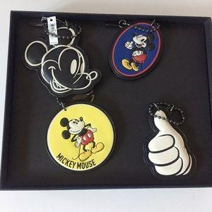 Coach Accessories - Coach x Disney Keychain Set
