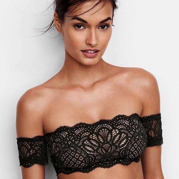 08241781e8 New Victoria s Secret Off-the-Shoulder Bralette