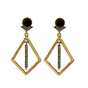 Jewelry - Geometric Vintage Looking Earrings