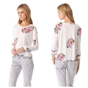 Pencey Tops - ➡Pencey Standard Floral Long Sleeve Tee⬅