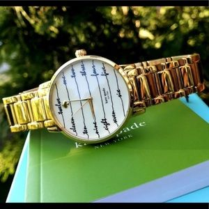 New Kate Spade Gramercy Bracelet Watch KSW1060