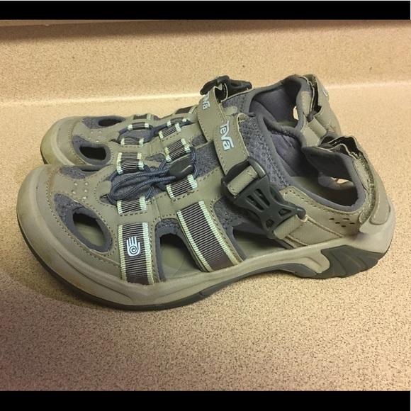 af81bd608 Clarks Shoes - Women s Teva Omnium 6154 Hiking Sport Sandals 7.5
