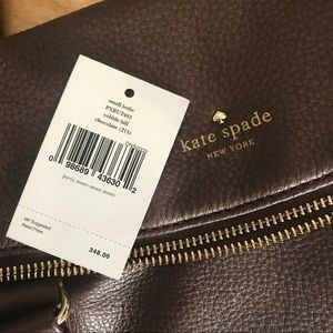 Kate Spade Bags - Kate Spade Small Leslie Purse in Chocolate