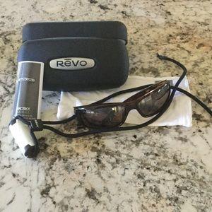 Revo Accessories - Tortoise Revo sunglasses.