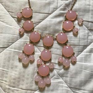 J. Crew Jewelry - J.Crew Light Pink Bubble Necklace