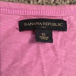 Banana Republic Ruffle T-Shirt