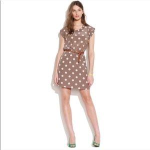  Madewell Silk Dotty dress