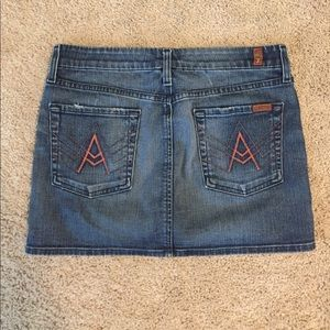 7 for all Mankind A Pocket Skirt 🌟 Size 29