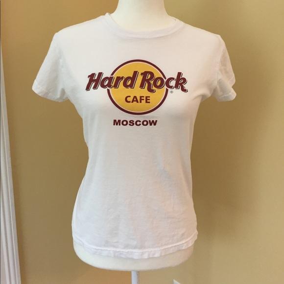 Hard Rock Cafe Tee Moscow