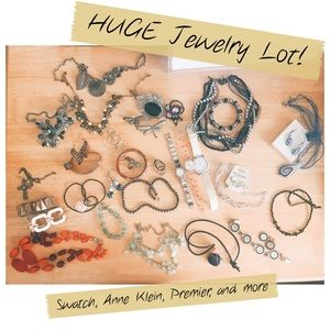 HUGE Jewelry Lot! Watches, sets, brooches, more! ✨