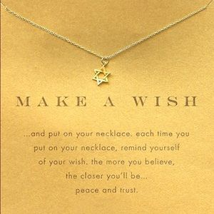 Jewelry - Make a Wish Star of David Gold Dainty