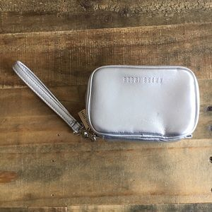 NWOT Cosmetic Pouch Clutch Removable Wrist Strap