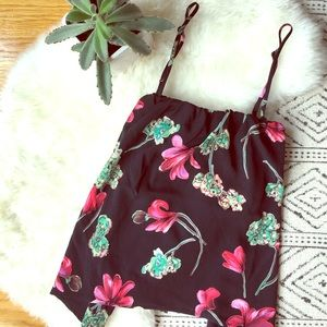 bp Tops - NWT cute floral top with adjustable straps