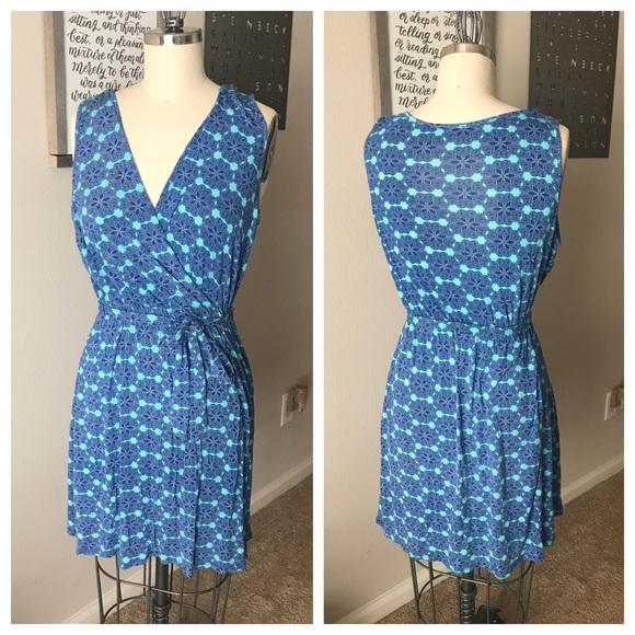 Stitch Fix Brixon Ivy Kessie Knit Faux Wrap Dress