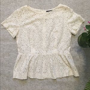 French Connection Tops - French Connection Lace top