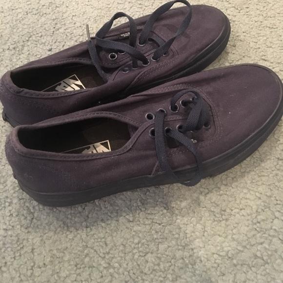 bd1d8df570c2 Vans Shoes - All Navy Vans - Women s 8 and Men s 6.5