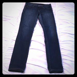 Articles Of Society Denim - Articles of Society dark denim skinny jeans