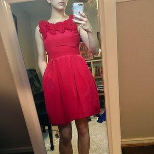 Taylor Dresses & Skirts - Romantic Red Bubble Dress