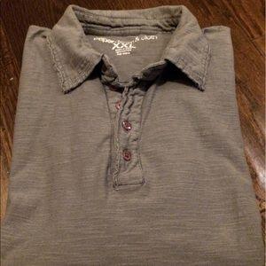 Paper Denim & Cloth Other - Paper Denim & Cloth Polo Shirt