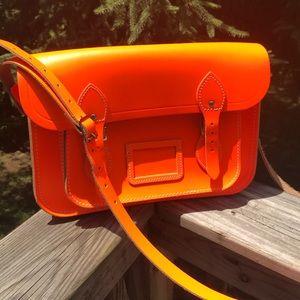 "The Cambridge Satchel Company Handbags - Cambridge satchel company orange 13"" crossbody"