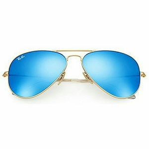 Ray-Ban Accessories - Ray-Ban Aviator Sunglasses Gold Blue Flash Mirror