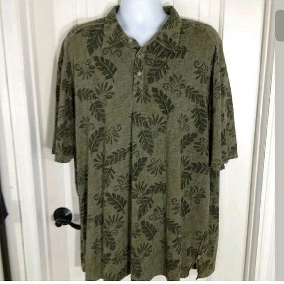 tommy bahama mens tommy bahama rayon hawaiian shirt xxl