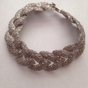 """Jewelry - Flexible Sterling silver 7""""X.1/2"""" bracelet"""