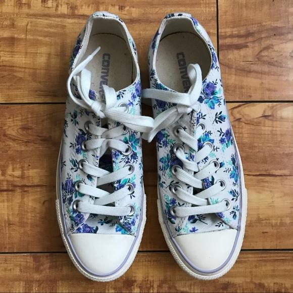 5b5afe026d75 Converse Shoes - CONVERSE Floral All Stars size 5 men 7 women RARE
