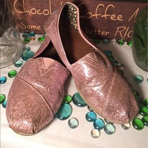 Toms Shoes - TOMS Glittery Flats