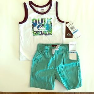 Quiksilver Other - NWT Quiksilver Tank top and shorts