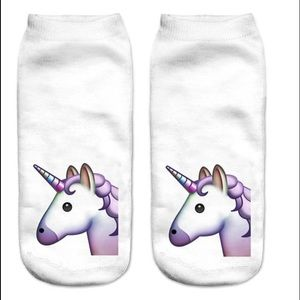 Other - 🦄 Fashion Emoji Unicorn Socks 🦄 FUN