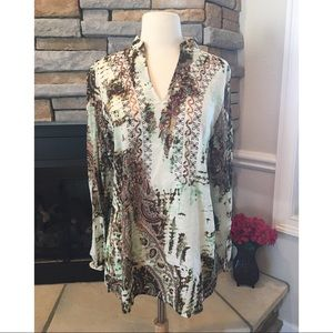 Tops - Boho Blouse/Cover-up