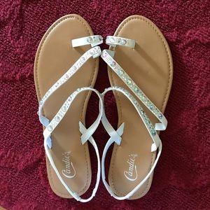 NWOT Candies sandals