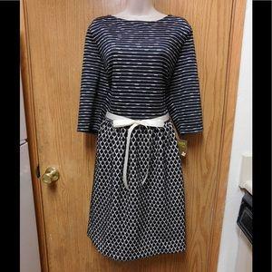 Taylor Dresses & Skirts - Stunning Formal Jacquard Plus Size Dress W/Belt