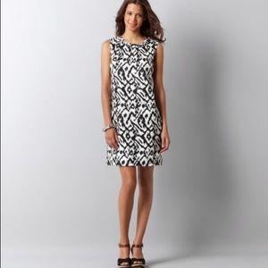 LOFT Dresses & Skirts - LOFT Ikat Linen Shift Dress
