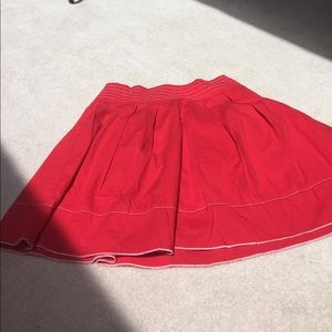 Dresses & Skirts - Red cotton skirt