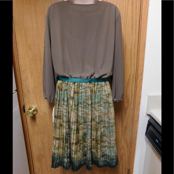 25 modamix dresses skirts glamorous brown green