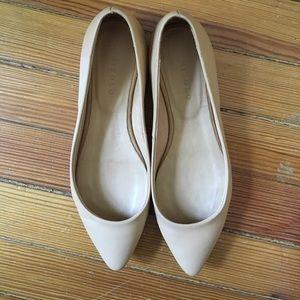 Nisolo Shoes - Nisolo Ava Ballerina Beige Flat 7.5